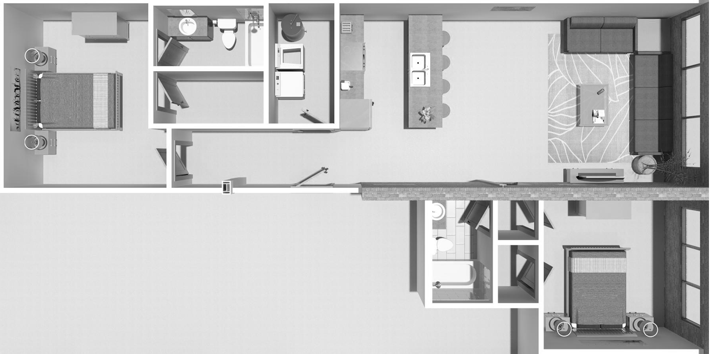 Photo of 2B Floorplan