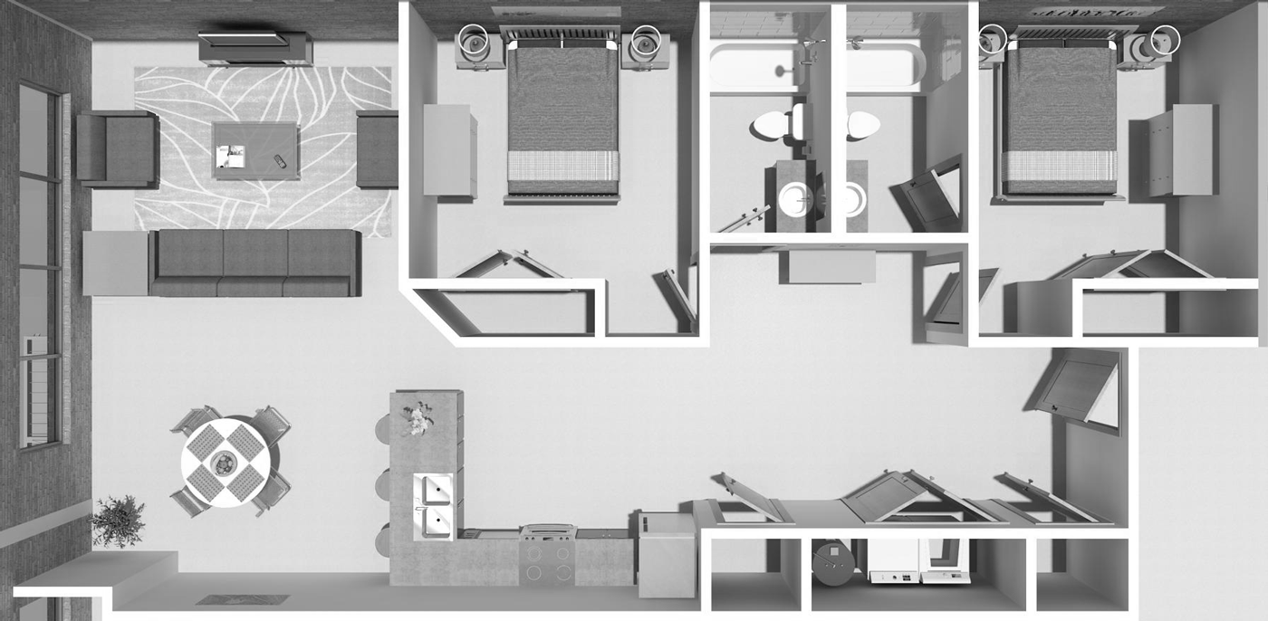 Photo of 2C Floorplan